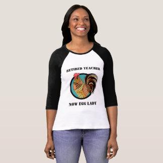 Chemise retirée humoristique de professeur t-shirt