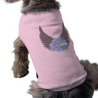 Chemise rose merveilleuse de chien t-shirt pour chien
