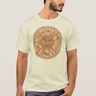 Chemise : Roue hébreue israélienne de zodiaque T-shirt