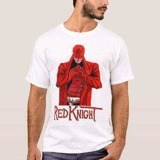 Chemise rouge de chevalier t-shirt