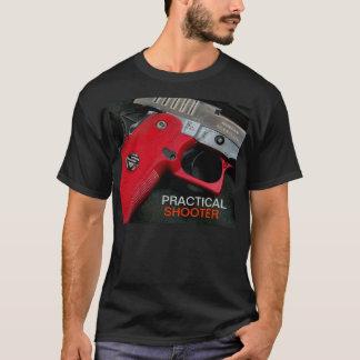 Chemise rouge de poignée t-shirt