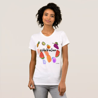 Chemise rouge de Velours-ReVeLuv T-shirt