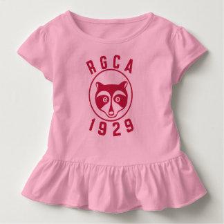 Chemise rouge d'enfant en bas âge de logo de RGCA T-shirt Pour Les Tous Petits