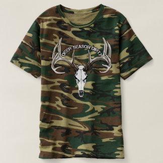 Chemise sale de camo de saison de cerfs communs t-shirt