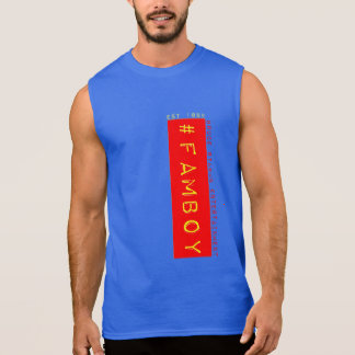 chemise sans manche #famboy t-shirt sans manches