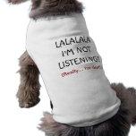 Chemise sourde drôle de chien vêtements pour animaux domestiques