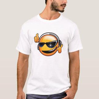 Chemise souriante du DJ T-shirt