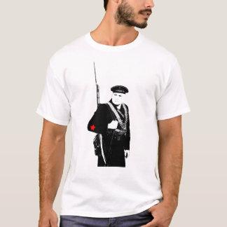 Chemise soviétique d'infanterie de marine de 2ÈME T-shirt