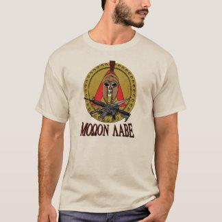 Chemise spartiate de Rd d'affiche de Molon Labe T-shirt