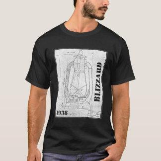 Chemise tempête de neige de Dietz de société de T-shirt