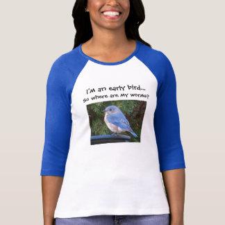 Chemise tôt d'oiseau t-shirt