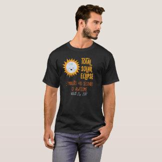 Chemise totale arrière personnalisée d'éclipse t-shirt