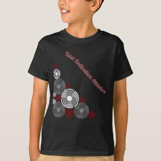 Chemise totale d'athlétisme de dévouement t-shirt