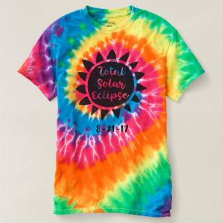 Chemise totale de colorant de cravate de spirale t-shirt