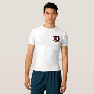 Chemise totale de compression d'athlétisme de t-shirt