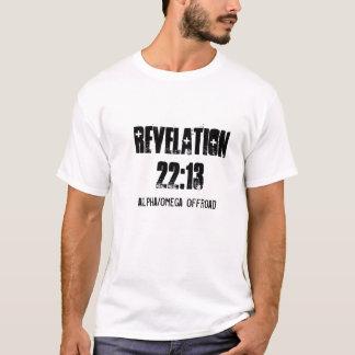 Chemise tous terrains de RÉVÉLATION d'alpha/Omega T-shirt