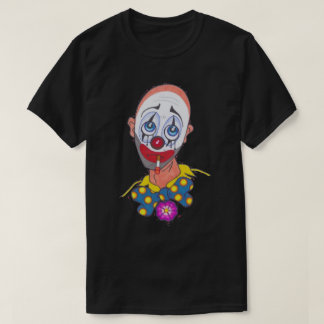 Chemise triste de clown t-shirt
