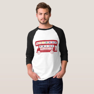 Chemise unisexe du base-ball de fierté t-shirt