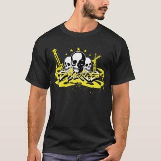 Chemise urbaine de crâne de graffiti t-shirt