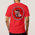 Chemise V1 de joint de chevaliers de Templar deux T-shirt