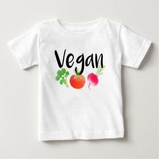 """Chemise """"végétalienne"""" de bébé de légume t-shirt pour bébé"""