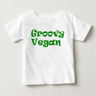""""""" Chemise végétalienne """"super de bébé T-shirt Pour Bébé"""