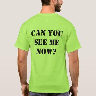 """Chemise verte de Salut-force : """"Pouvez vous me T-shirt"""