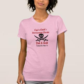 Chemise vilaine de fille de pirate t-shirt