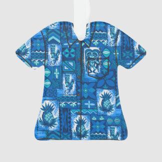 Chemise vintage hawaïenne de Tapa de Pomaika'i