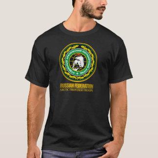 Chemises arctiques russes de troupes de frontière t-shirt