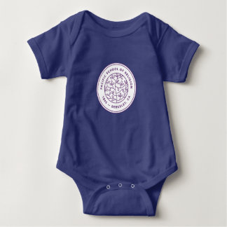 Chemises de bébé avec la crête body