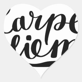 Chemises de CARPE DIEM, accessoires, cadeaux Sticker Cœur