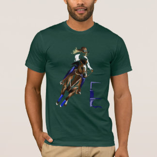 Chemises de cheval de baril t-shirt