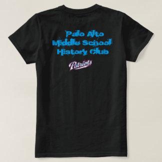 Chemises de club d'histoire de Palo Alto T-shirt