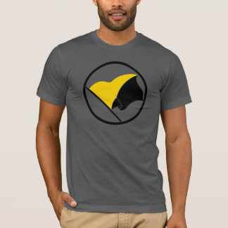Chemises de drapeau d'AnCap T-shirt