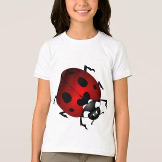 Chemises de la coccinelle de l'enfant de T-shirts