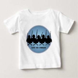 Chemises de mémorial de guerre de T-shirts de bébé