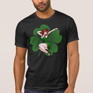 Chemises de pin-up irlandaises chanceuses 5XL de T-shirt