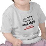 Chemises drôles adorables de bébé de Frickin T-shirts