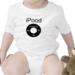 chemises drôles de bébé d'iPood T-shirts
