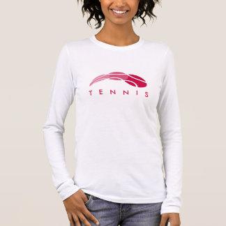 Chemises du tennis des femmes de Personlized T-shirt À Manches Longues