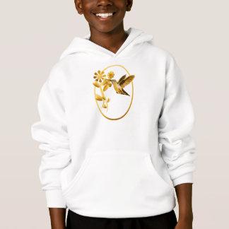 Chemises encadrées par colibri d'or