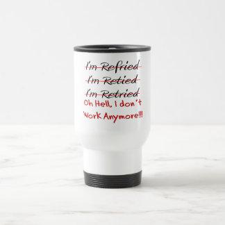 Chemises et cadeaux drôles de retraite mug