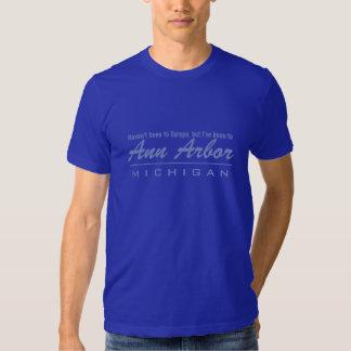 Chemises et vestes d'Ann Arbor Michigan T-shirt