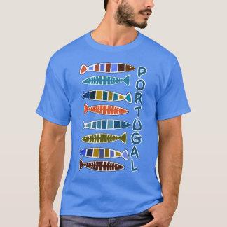 Chemises et vestes de motif de poissons du