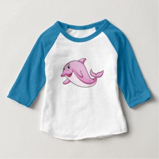 Chemises et vestes mignonnes de dauphin