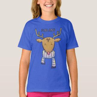 Chemises et vestes mignonnes de renne de la