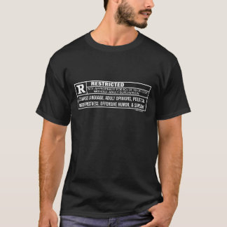 Chemises évaluées de coutume de R T-shirt