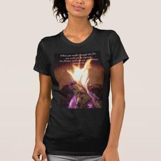 Chemises : Flammes en feu T-shirt
