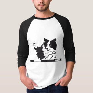 Chemisette Border collie Agility T-shirt